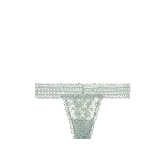 Cheap VICTORIA'S SECRET Silver Sea NEW! Medallion Lace Thong Panty Online