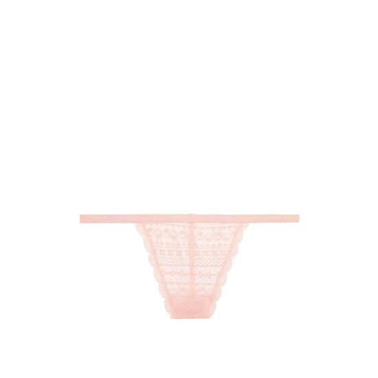 Cheap VICTORIA\'S SECRET English Rose NEW! Lace V-string Panty Online