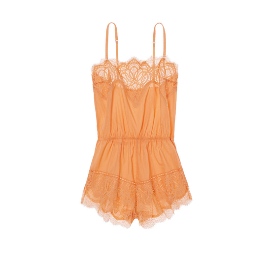 Cheap VICTORIA'S SECRET Gold Earth NEW! Crochet Lace Romper Online