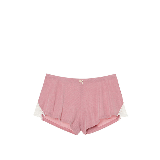 Cheap VICTORIA'S SECRET Rose Luster NEW! Ribbed Sleep Short Online