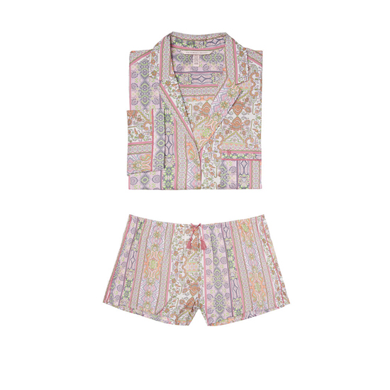 Cheap VICTORIA'S SECRET Pink Paisley Stripe NEW! The Mayfair Boxer Pajama Online