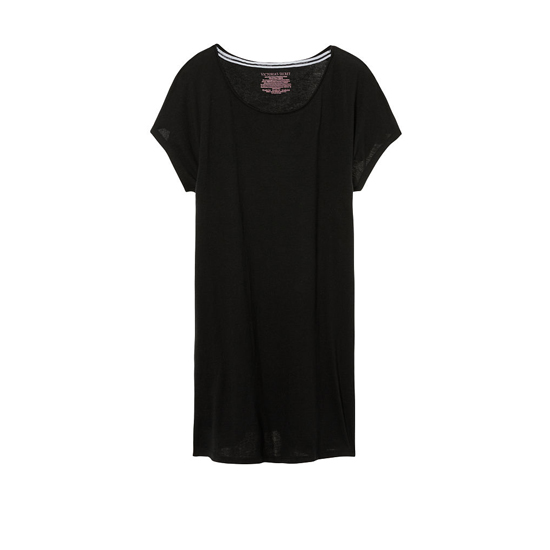 Cheap VICTORIA\'S SECRET Black/Back Love VS Graphic NEW! Angel Sleep Tee Online