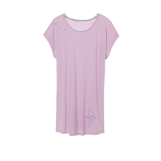 Cheap VICTORIA'S SECRET Fair Orchid/Yours Graphic NEW! Angel Sleep Tee Online