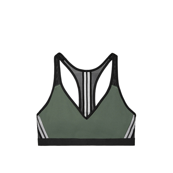 Cheap VICTORIA\'S SECRET Cadette Green NEW! The Player Plunge Sport Bra Online
