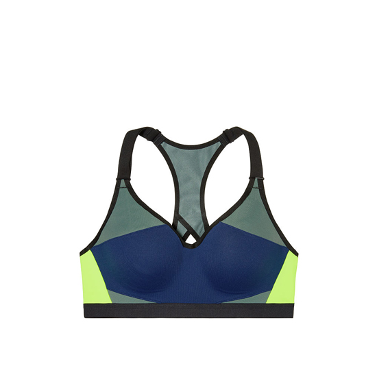 f962931d34808 Cheap VICTORIA S SECRET Inkblot Colorblock NEW! Incredible by Victoria  Sport Bra Online