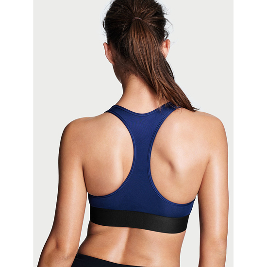 Cheap VICTORIA\'S SECRET Inkblot Bold Blocking NEW! The Player by Victoria Sport Racerback Sport Bra Online