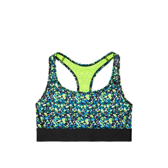 Cheap VICTORIA'S SECRET Cool Sharp Angles NEW! The Player by Victoria Sport Racerback Sport Bra Online