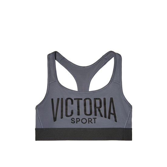 Cheap VICTORIA'S SECRET Black Pearl NEW! The Player by Victoria Sport Racerback Sport Bra Online